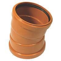 FloPlast Double Socket Bend 15° 160mm