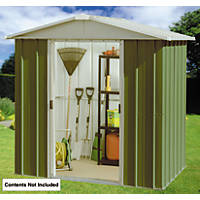 Yardmaster Sliding Door Apex Shed 6' 6 x 7' 1""