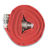 "Red Lay-Flat Hose 23m x 2½"" (65mm)"