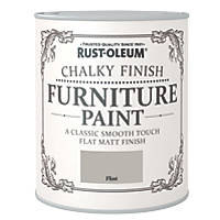 Rust-oleum Universal Furniture Paint Chalky Flint Grey 750ml