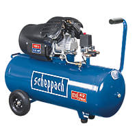 Scheppach HC100DC 100Ltr Electric Twin Cylinder Air Compressor 230V