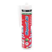 Mapei Mapesil Solvent-Free Silicone Sealant Black 310ml