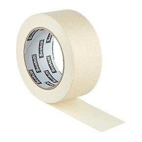 scotch all purpose masking tape 48mm x 50m masking tape. Black Bedroom Furniture Sets. Home Design Ideas