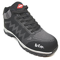 Lee Cooper LCSHOE102   Safety Trainer Boots Black / Grey Size 9