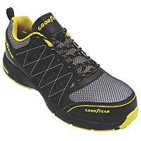 Goodyear GYSHU1502 Metal Free  Safety Trainers Black/Yellow Size 11