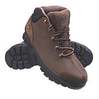 Timberland Pro Splitrock Pro Safety Boots Brown Size 12