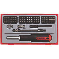 Teng Tools TTMD74 Ratchet Screwdriver Set 74 Pcs