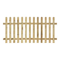 Grange Palisade Picket Fence Panels 1.8 x 0.9m 5 Pack