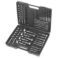 Hex Shank Wood Drill Bit Set 35 Pieces