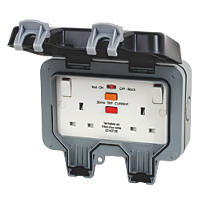BG 13A 2G RCD Switched Socket