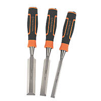 Magnusson  Bevel Edge Wood Chisel Set 3 Pieces