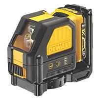 DeWalt DCE088D1R-GB 12V 2.0Ah Li-Ion XR Red Self-Levelling Cross-Line Laser Level