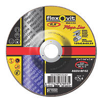 Flexovit Ultra Thin Cutting Discs  (125mm) x 0.8 x 22.23mm 5 Pack