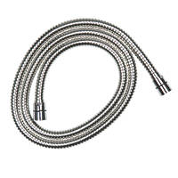 Croydex Shower Hose Chrome 11mm x 1.75m