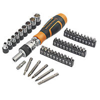 Magnusson  Ratchet Screwdriver Bit Set 46 Pieces