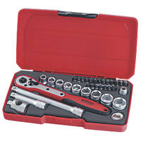 "Teng Tools T3834 3/8"" Drive Socket Set 34 Pcs"
