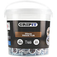 GripIt  Plasterboard Fixing 20 x 14mm 100 Pack