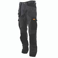 "DeWalt Barstow DWC115-009 Holster Work Trousers Charcoal Grey 40"" W 29"" L"