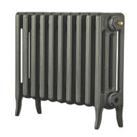 Arroll  4-Column Cast Iron Radiator 460 x 754mm Cast Grey