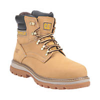 CAT Fairbanks   Safety Boots Honey Size 7