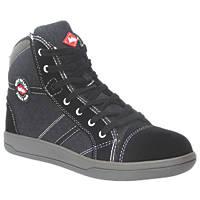 Lee Cooper LCSHOE101   Safety Trainer Boots Black/Grey Size 9