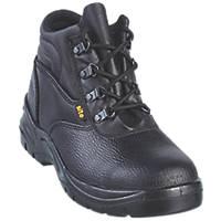 Site Slate   Safety Boots Black Size 6