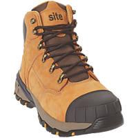 Site Tufa   Safety Boots Honey Size 12