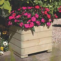 Rowlinson Square Patio Planters  500 x 500 x 390mm 4 Pack