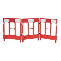 JSP Workgate 3-Gate Barrier Red