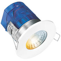 Aurora CX7 Fixed Cylindrical Fire Rated LED Downlight White 600lm 7W 240V