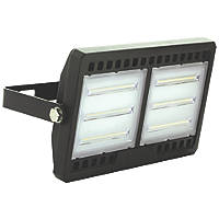 Luceco Commercial LED Floodlight Black 100W