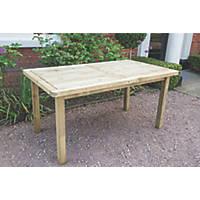 Forest Rosedene Garden Table 1600 x 900 x 760mm