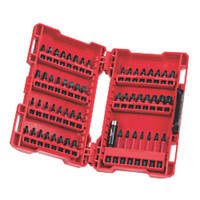 Milwaukee Mixed Shockwave Screwdriver Bit Set 57 Pieces