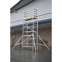 Lyte  Single Depth Aluminium Folding Work Tower System 3.6m