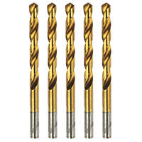 Erbauer Ground HSS Drill Bit 13mm Pack of 5