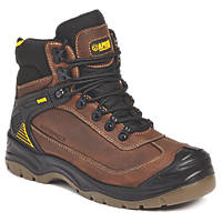 Apache Ranger   Safety Boots Brown Size 10