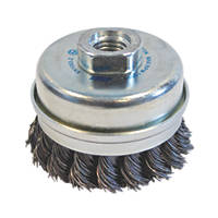 Norton Expert Twist Knotted Cup Brush 75mm