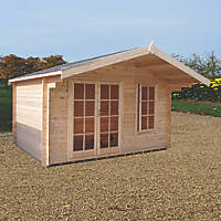 Shire Cannock Log Cabin 12 x 8'