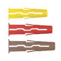 Rawlplug Uno Mixed Wall Plugs 144 Pieces