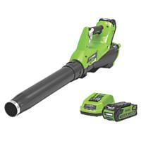 Greenworks GWG40ABK2 40V 2Ah Li-Ion   Cordless Axial Blower