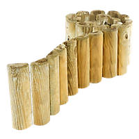 Rowlinson Border Roll Natural Timber 1.8m 4 Pack