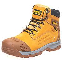 DeWalt Defiance   Safety Boots Honey Size 10