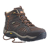 Hyena Ravine   Safety Boots Brown Size 10