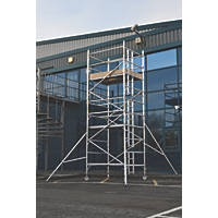 Lyte Helix Double Depth Aluminium Industrial Tower 4.2m