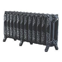 Arroll  3-Column Cast Iron Radiator 470 x 994mm Black 3685BTU