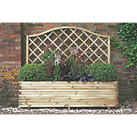 Forest Rectangular Venice Planter  1800 x 500 x 1500mm