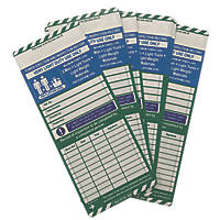 Scafftag  Towertag Inserts 10 Pack