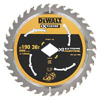 DeWalt Circular Saw Blade 190 x 30mm 36T