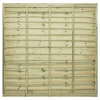 Grange Pro Lap Fence Panels 1.83 x 1.8m 3 Pack