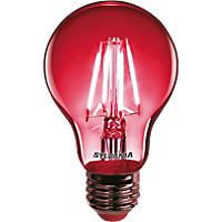 Sylvania Helios Chroma ES A60 Red LED Light Bulb 4W